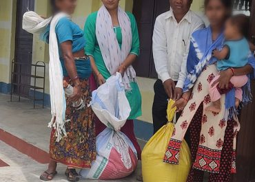 Sathi Initiative Support: 14 families of Maadi are benefited