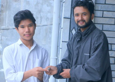 The second tranche of Shree Chakra Financial Assistance is handed to Mr. Yakub Tamang