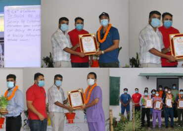 Better Youth Award 2021 is honored to 5 youths from Chitwan